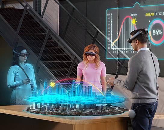 Realidad Mixta = Realidad Virtual+ Realidad Aumentada